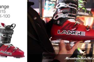 2015 Lange SX 100 Alpine Ski Boot