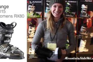 2015 lange womens RX 80 Alpine Ski Boot