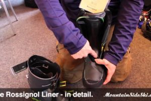 2015 rossignol alpine ski boot liner upgrades