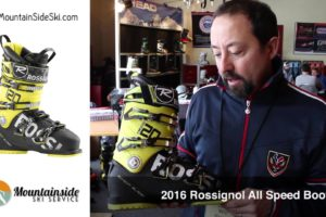 Rossignol Mens 2016 All Speed Alpine Ski Boot
